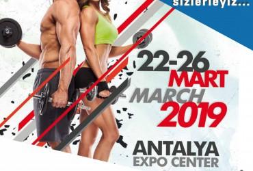 Antalya Expo Center'da SPORTURKEY Fuarında sizlerleyiz!